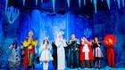 Съемки  мюзикла «Снежная королева»