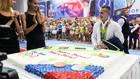 Торжественная встреча Дениса Аблязина в «Буртасах»