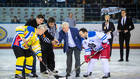 Товарищеский хоккейный матч