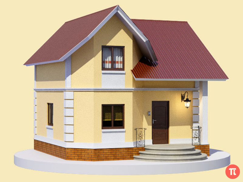 Проекты каркасных домов - Каркасные коттеджи в Курске
