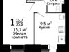 Продам 1 комнатную квартиру, ул. Ладожская