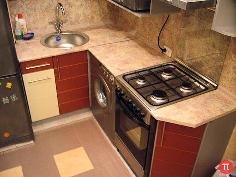 Как отремонтировать кухню в хрущевке школа ремонта и строите.