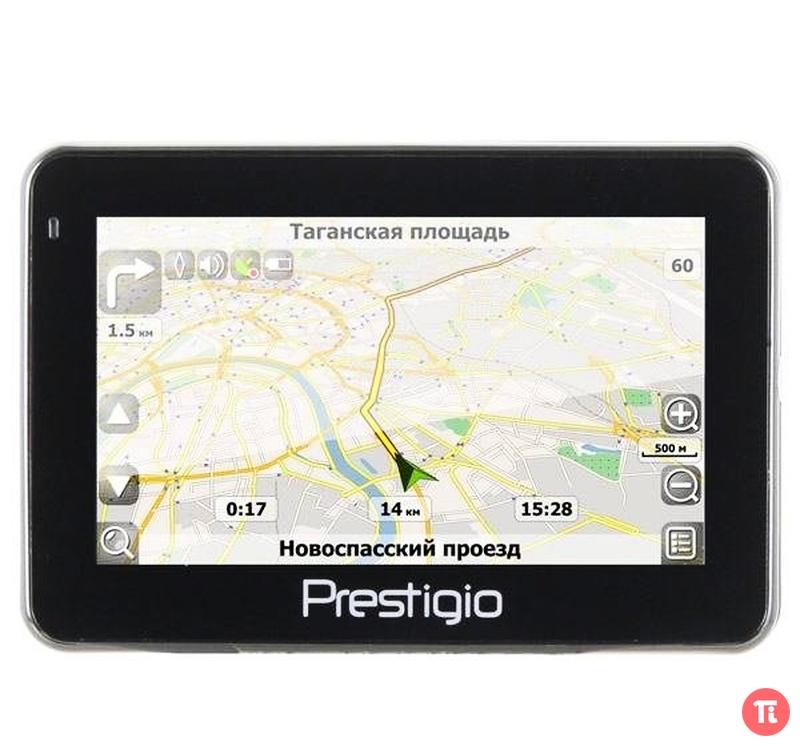 Навигаторы. Мобільні телефони,GPS Автомобільний навігатор Prestigio GeoVis