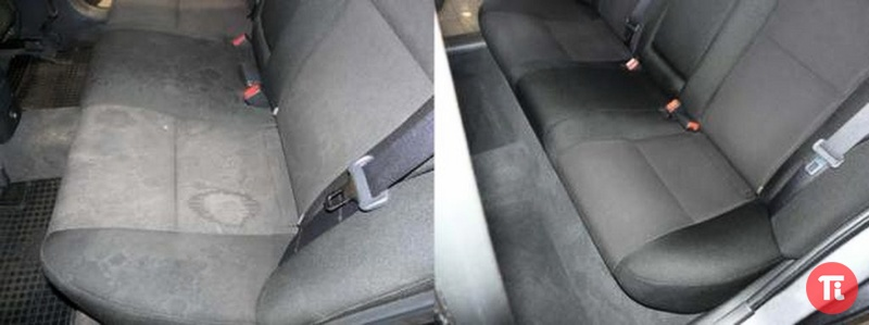 Как почистить сиденья автомобиля своими руками фото