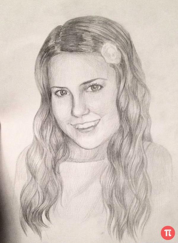 Beauty Things / рисунки портрет мамы карандашом