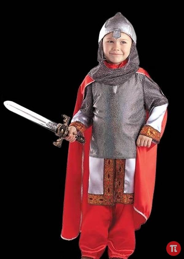 Новогодний костюм для мальчика своими руками богатыря