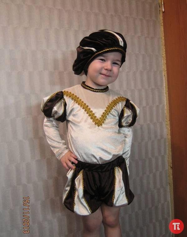Карнавальный костюм для мальчика своими руками быстро 32