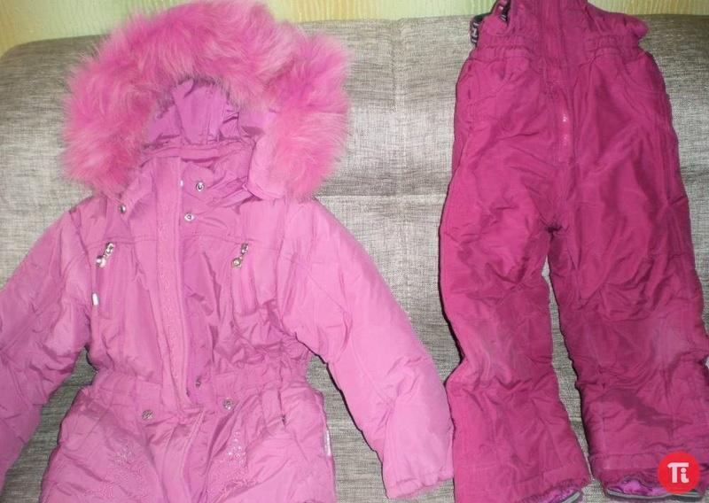 Продам зимний костюм на рост 110