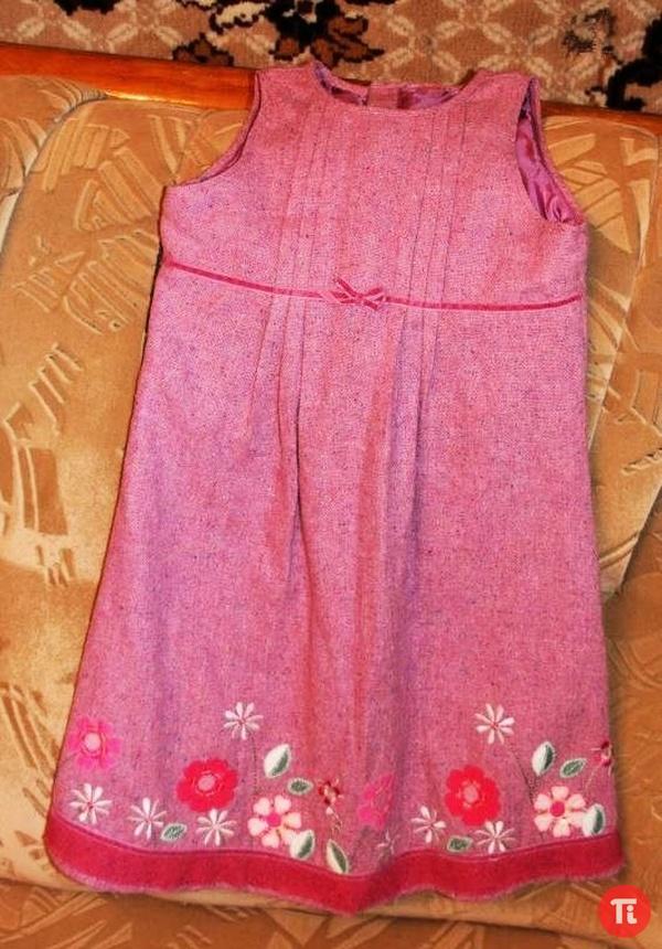 Красивый сарафан для девочки 6-8 лет продам
