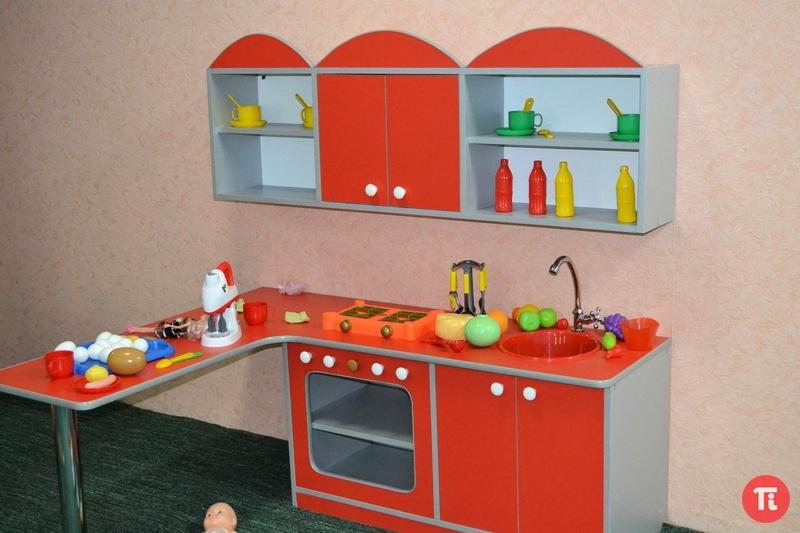 Кухонный уголок в детском саду своими руками