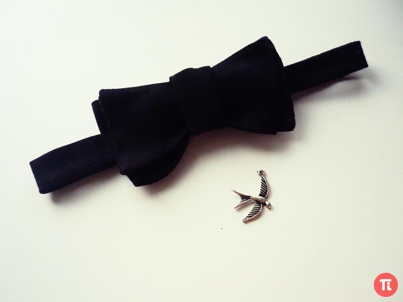 Бабочки на шею своими руками фото
