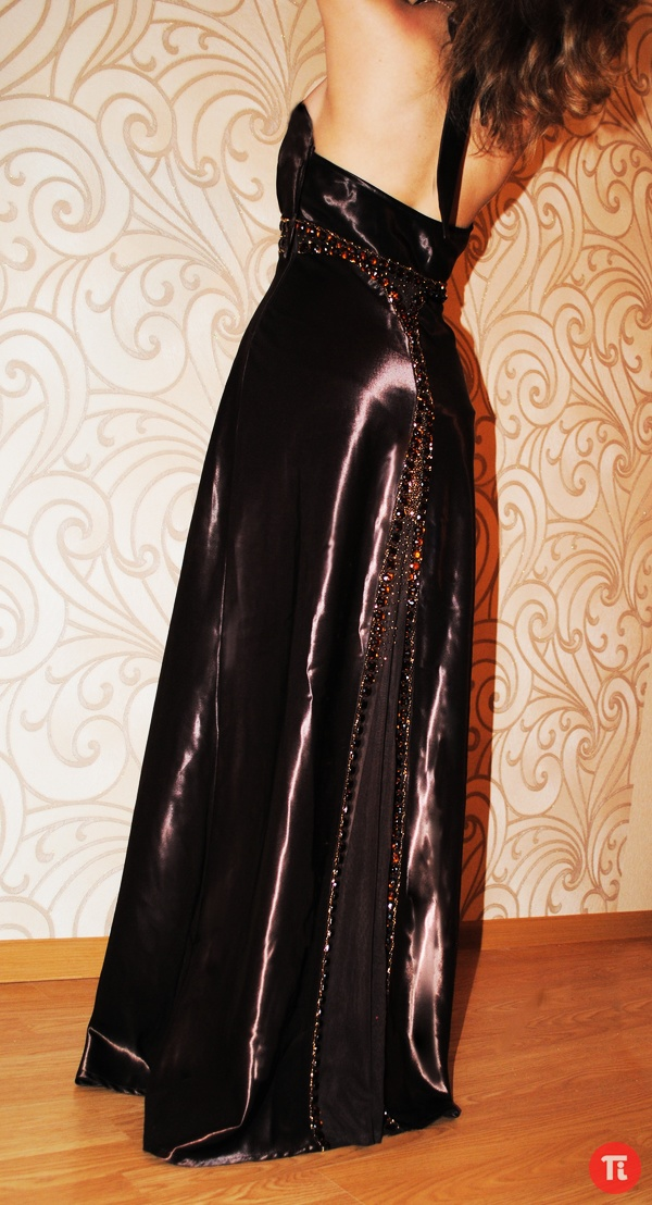Продам вечернее платье цвет шоколад