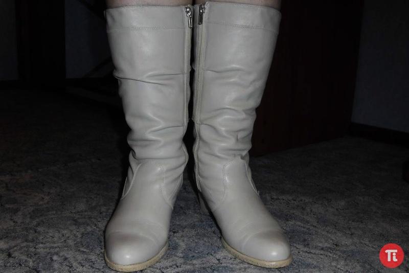 Сапоги на полную ногу янита