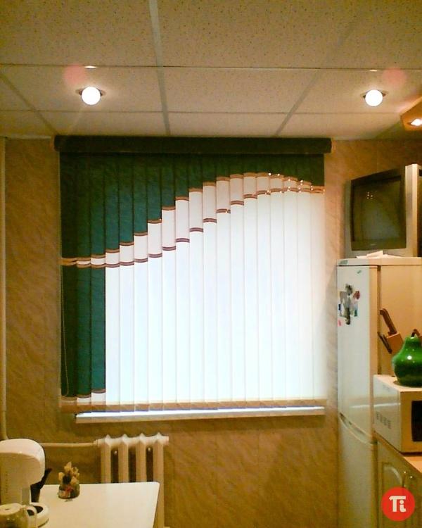 Мультифактурные жалюзи фото на кухню