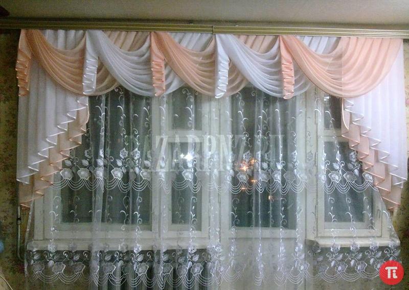 Шьем шторы для залы своими руками 416
