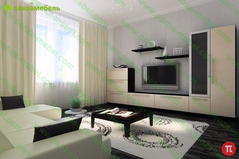 Дизайн Гостиной С Мебелью Венге Москва