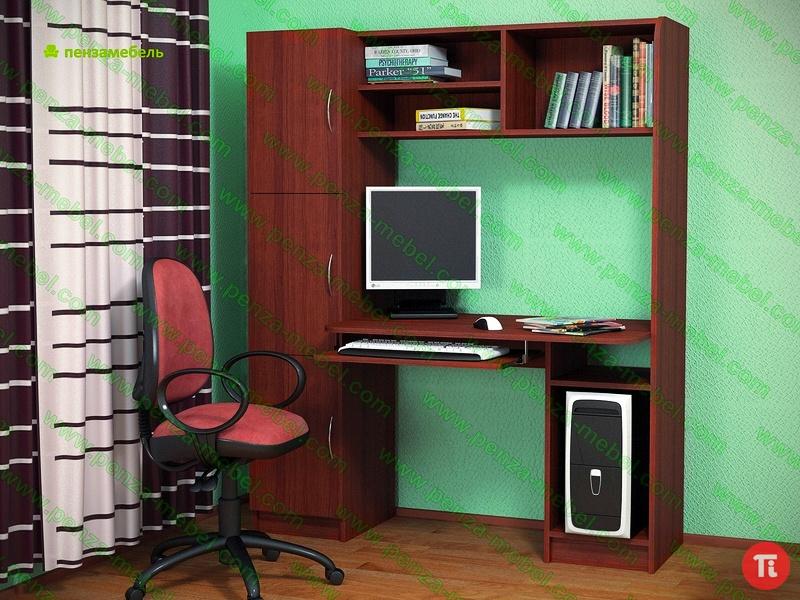 Компьютерный стол бентон в ульяновске - купить.
