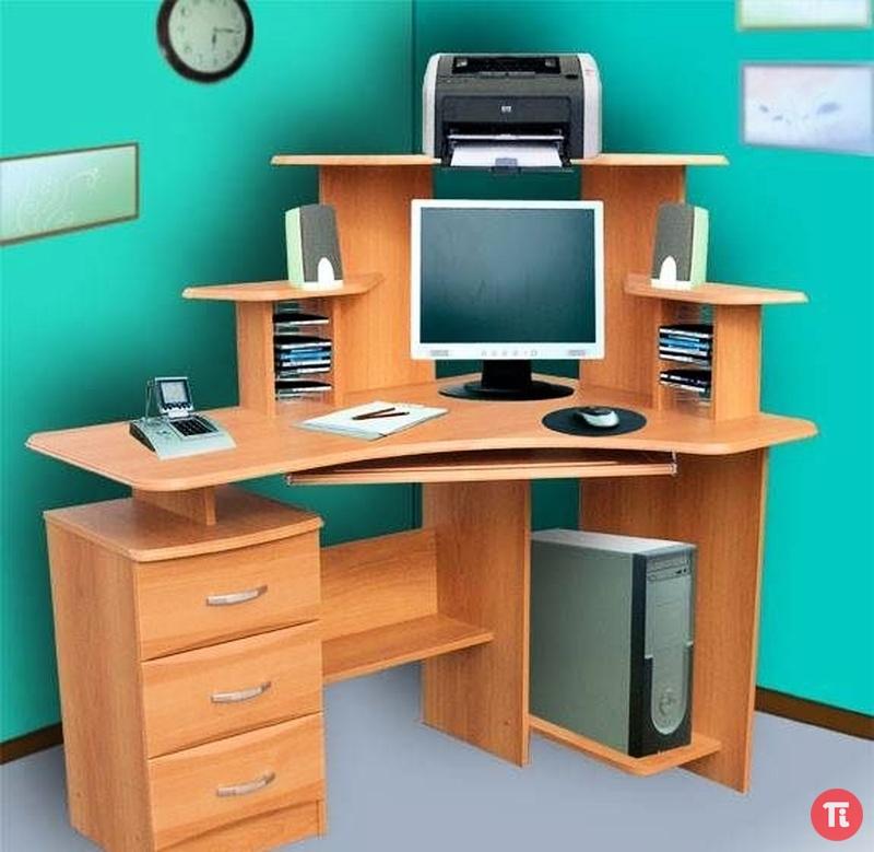Компьютерные угловые столы фото цены.