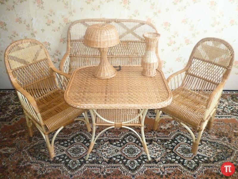 Мебель из ивы своими руками фото
