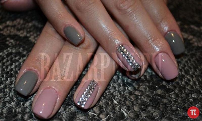 Дизайн гелевых коротких ногтей фото