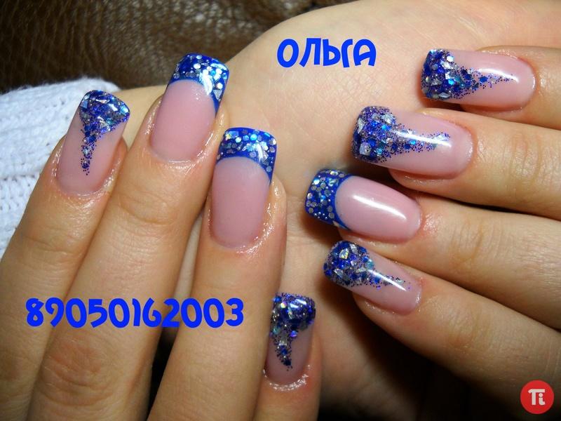 Дизайн ногтей на гелевых ногтях