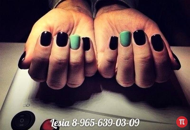 Новые гель лак на ногтях