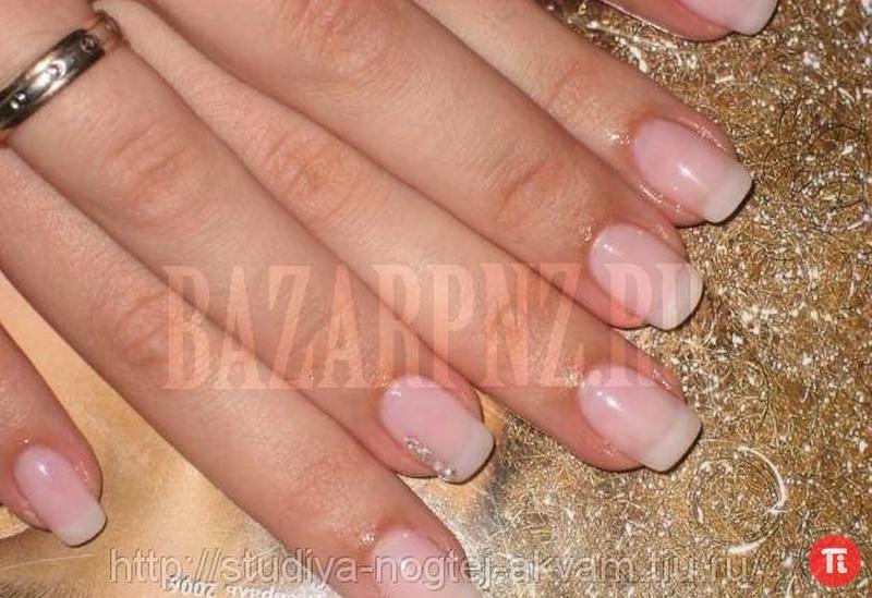 Дизайн натуральных ногтей