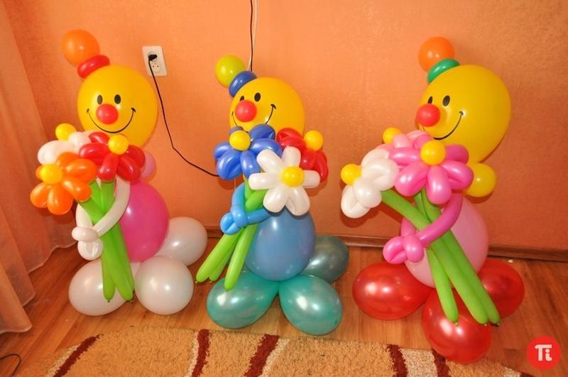 Как из шаров сделать фигурки из