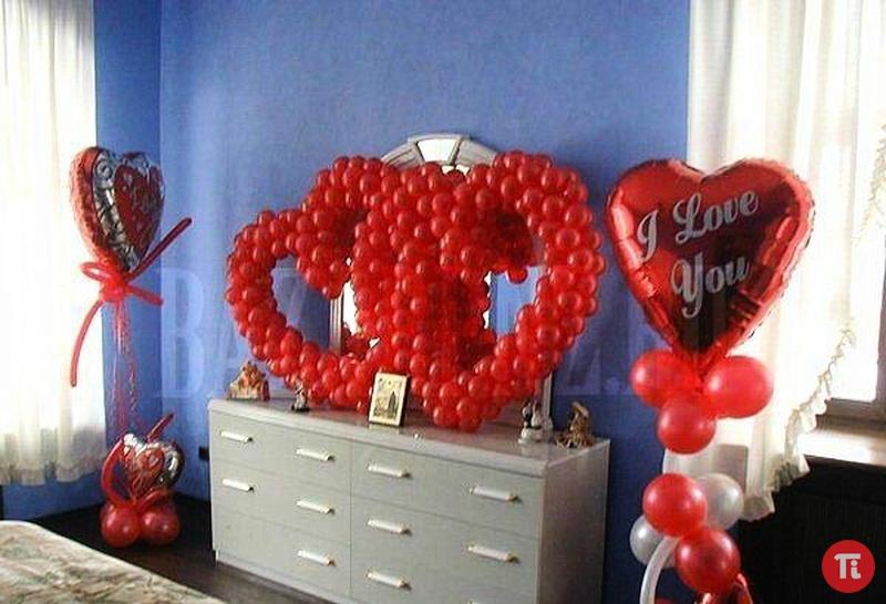 Украшенная комната на день рождения мужчине 18 фотография