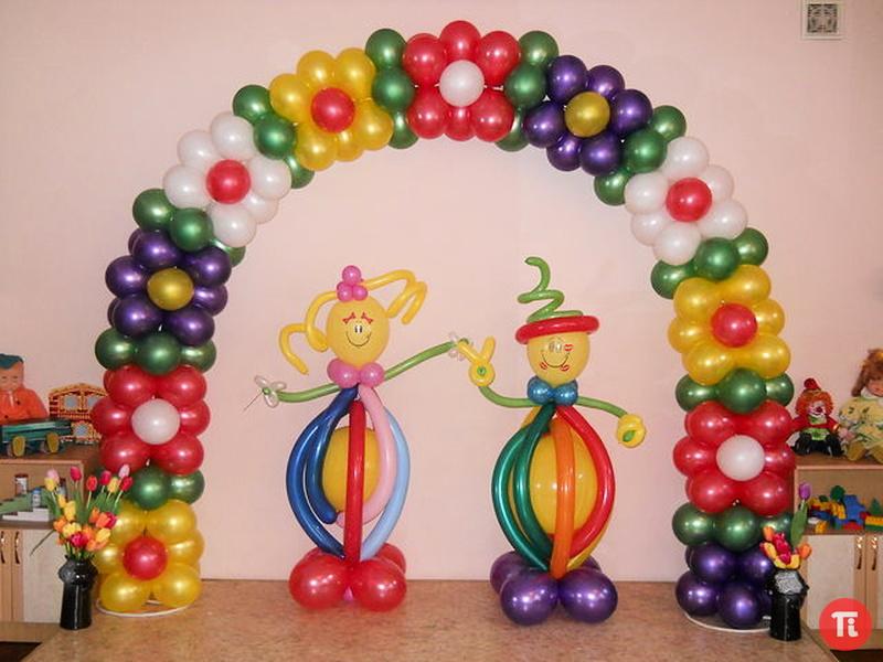 Оформление шарами – это оригинальное