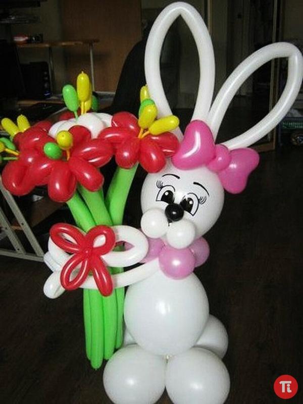 Заяц из шариков