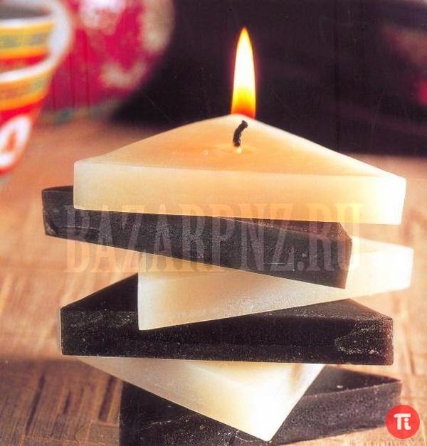 Из чего сделать свечу в домашних условиях своими руками