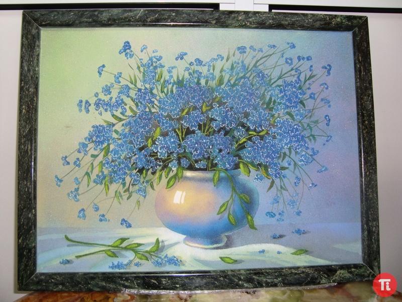 Картины из мраморной крошки своими руками мастер класс