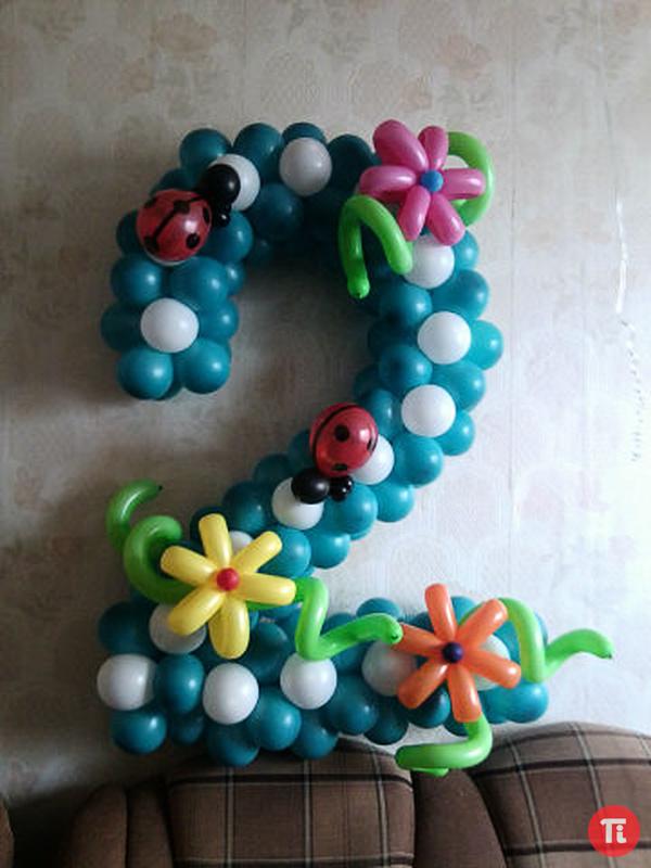 Фото 4 из шаров своими руками 27