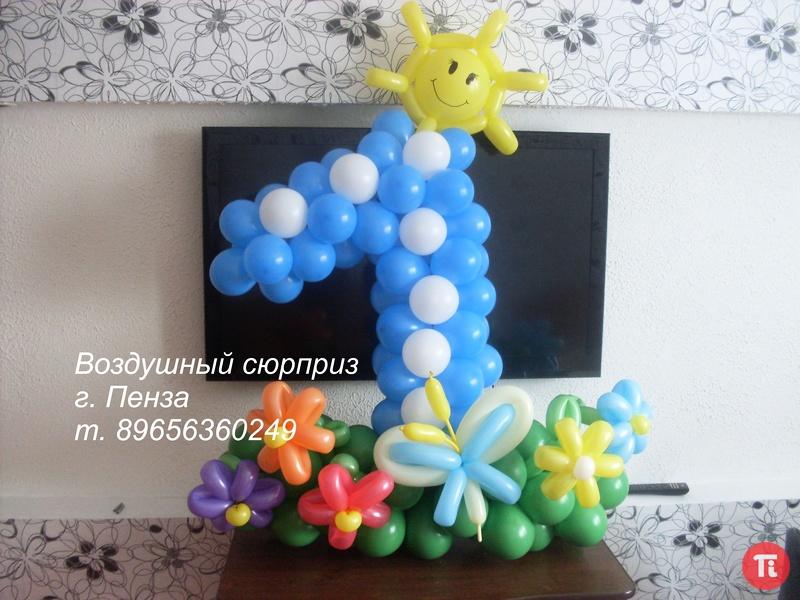 Украшение шарами детских праздников