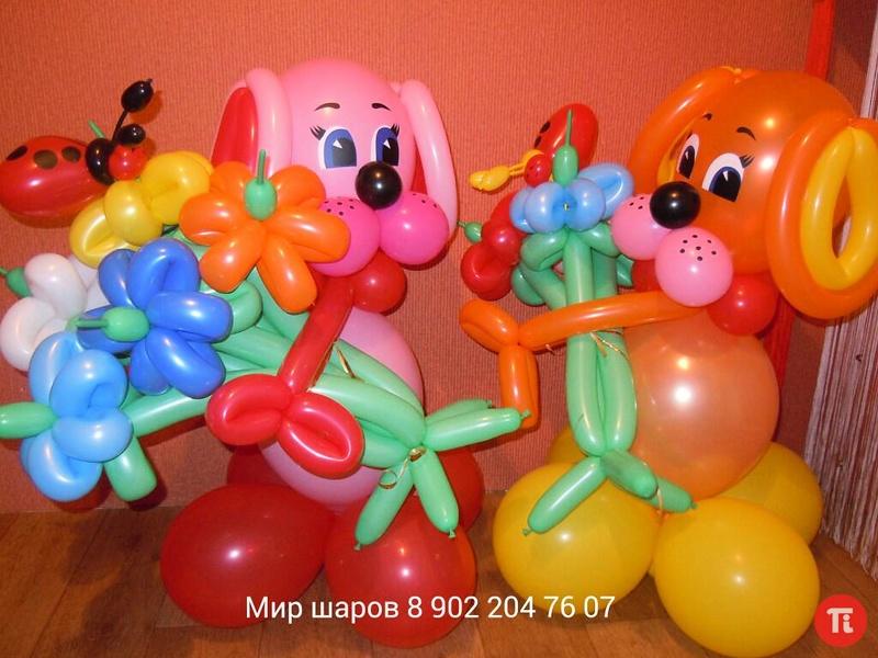 Как сделать из шариков надувных игрушки