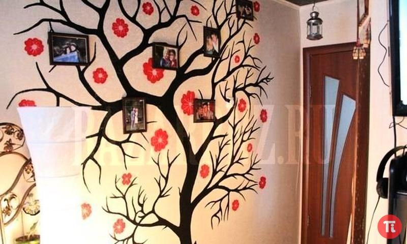 Чем декорировать стены своими руками
