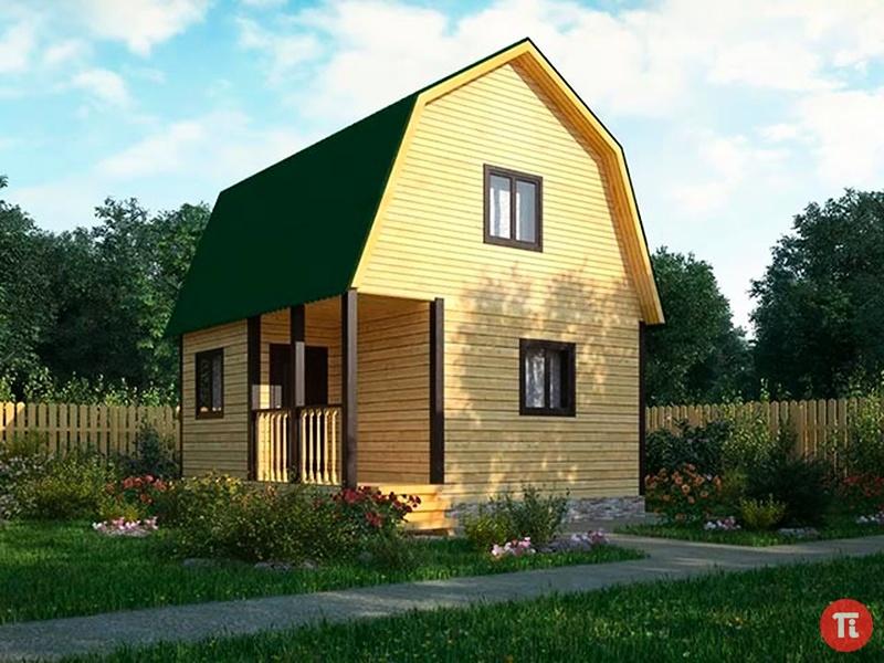 Загородный Дом в Классическом Стиле, Красивые Проекты