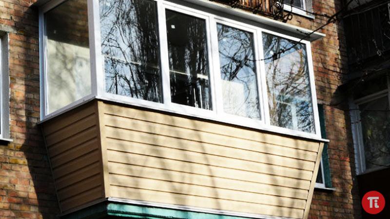 Внешняя отделка балконов цены.