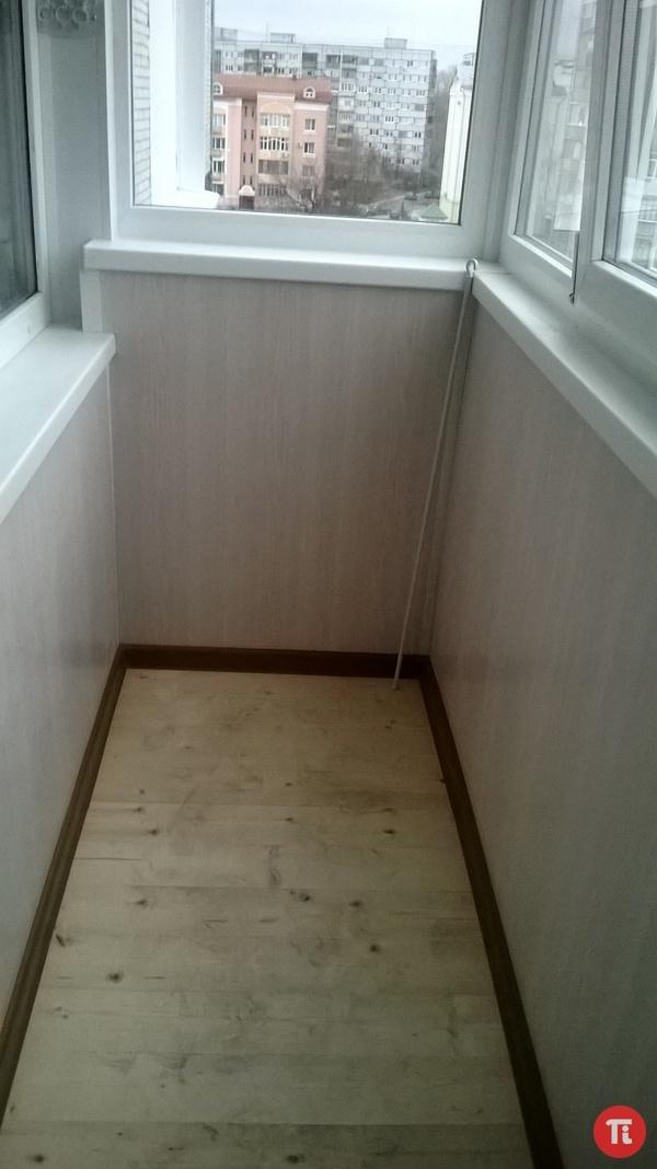 Отделка утепление балконов.