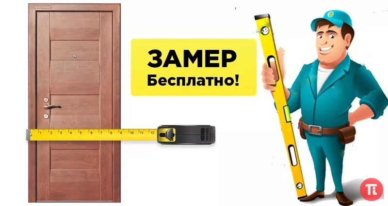 двери входные замерщик