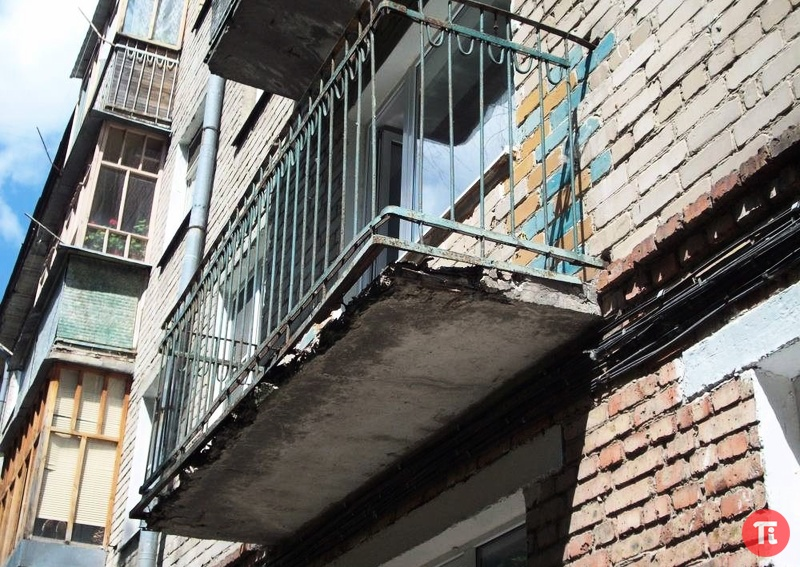 Усиление конструкции балкона. - остекление лоджий - каталог .