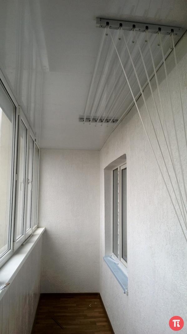 Специальная сушилка для балкона..