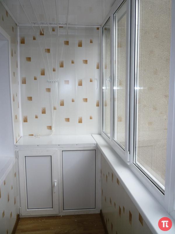 Как обшить балкон пластиком внутри