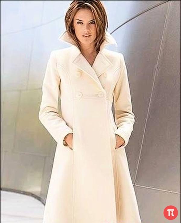 Дизайн женского пальто