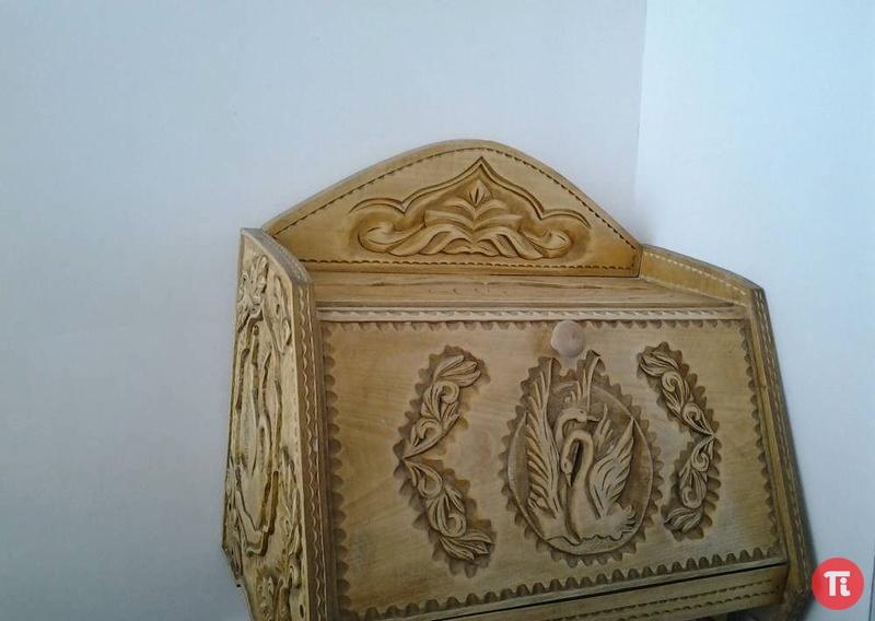 Хлебница из дерева чертежи