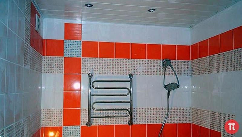 Укладка плитки ванная