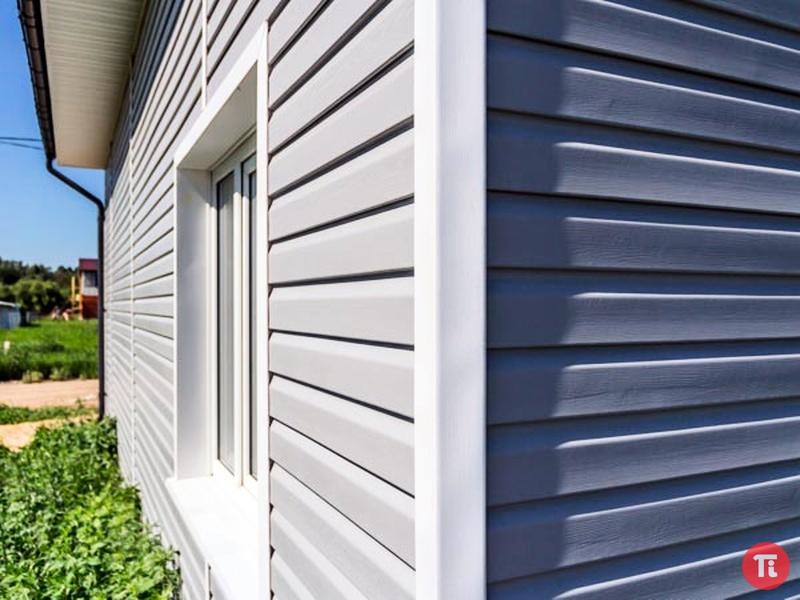 Современная отделка фасада частного дома