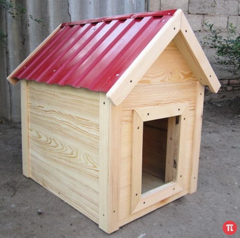 Собачья будка своими руками фото