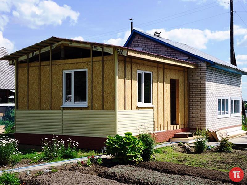 Построить пристрой к дому